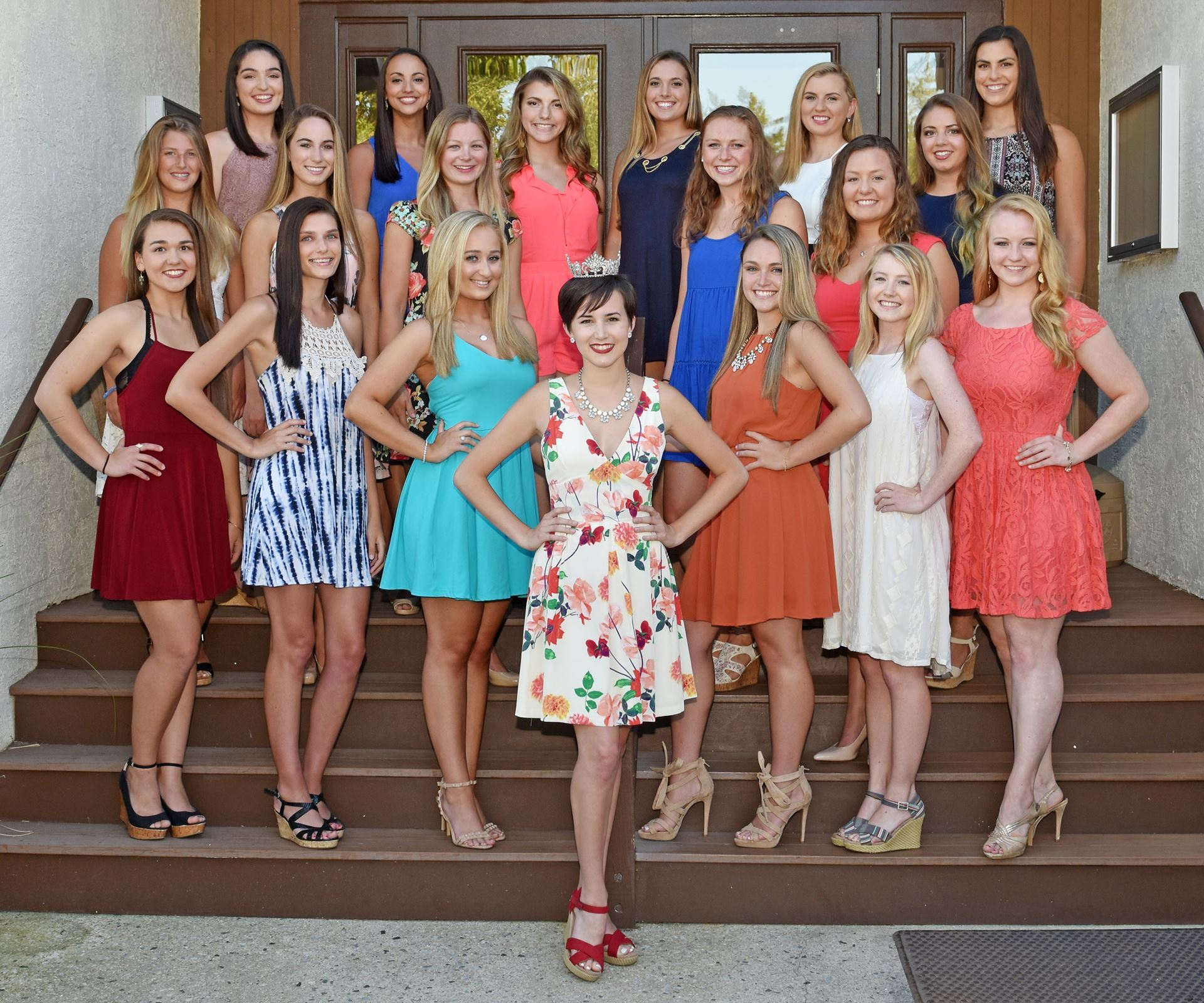 Miss Ocean City 2016 with the Contestants for Miss OC 2017! Photo Credit to David Nahan Ocean City Sentinel, the official photographer for Miss Ocean City